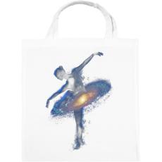 PRINTFASHION Cosmic dance - Vászontáska - Fehér