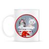 PRINTFASHION Cuki cicák - Bögre - Fehér
