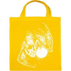 PRINTFASHION Denevér - Vászontáska - Sárga