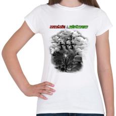 PRINTFASHION Dicsőség a Hősöknek!  - Női póló - Fehér