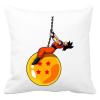 PRINTFASHION Dragonball - Wrecking Ball - Párnahuzat, Díszpárnahuzat - Fehér