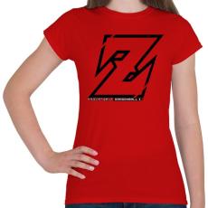 PRINTFASHION Dragonball Z - Női póló - Piros