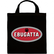 PRINTFASHION EBUGATTA póló - Vászontáska - Fekete