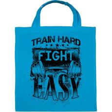 PRINTFASHION Eddz keményen, harcolj könnyedén! - Vászontáska - Kék