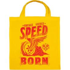 PRINTFASHION Égető sebesség - Vászontáska - Sárga