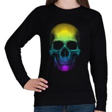 PRINTFASHION Eleven koponya - Női pulóver - Fekete