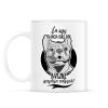 PRINTFASHION én egy francia bulldog büszke gazdija vagyok! - Bögre - Fehér