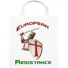 PRINTFASHION European Resistance - Vászontáska - Fehér