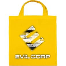 PRINTFASHION Evil Corp Glitch - Vászontáska - Sárga