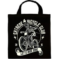 PRINTFASHION Extrém bringás - Vászontáska - Fekete