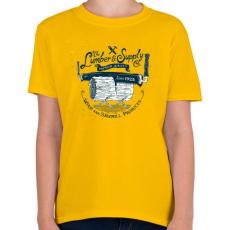 PRINTFASHION Fanyűvők - Gyerek póló - Sárga
