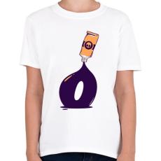 PRINTFASHION festék - Gyerek póló - Fehér