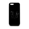 PRINTFASHION Festett panda - Telefontok - Fekete hátlap