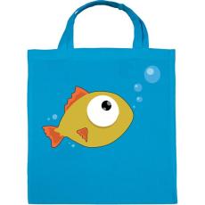 PRINTFASHION Fish - Vászontáska - Kék