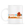 PRINTFASHION Florida - Bögre - Fehér