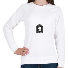 PRINTFASHION FNBR - Loot LLama Gang - Női pulóver - Fehér