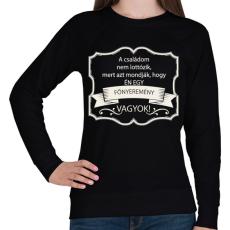 PRINTFASHION Főnyeremény - Női pulóver - Fekete