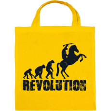 PRINTFASHION Forradalom - Vászontáska - Sárga