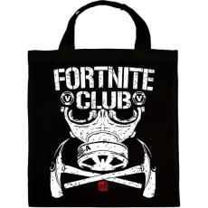 PRINTFASHION Fortnite Club - Vászontáska - Fekete
