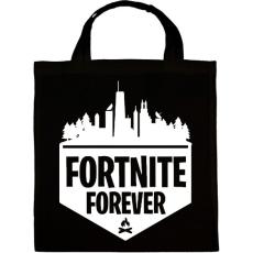 PRINTFASHION Fortnite Forever - Vászontáska - Fekete