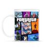 PRINTFASHION Fortnite GTA Edition - Bögre - Fehér