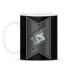 PRINTFASHION Fox Stripes - Bögre - Fekete