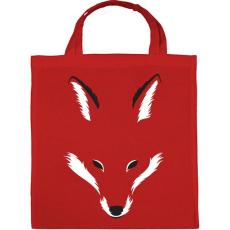 PRINTFASHION Foxy shape - Vászontáska - Piros