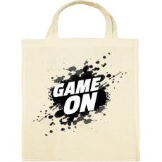 PRINTFASHION Game On - Vászontáska - Natúr