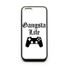 PRINTFASHION Gangsta Life - Telefontok - Fehér hátlap