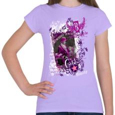 PRINTFASHION GIRLS STYLE - Női póló - Viola
