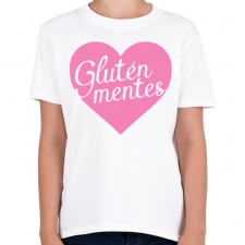 PRINTFASHION gluten-free-love-pink - Gyerek póló - Fehér gyerek póló