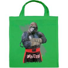 PRINTFASHION Gorilla thai box - Vászontáska - Zöld