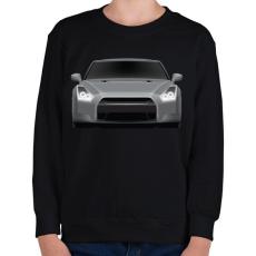 PRINTFASHION GTR - Gyerek pulóver - Fekete