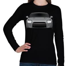 PRINTFASHION GTR - Női hosszú ujjú póló - Fekete