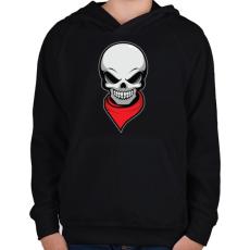 PRINTFASHION Gyilkos bandita - Gyerek kapucnis pulóver - Fekete