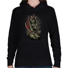 PRINTFASHION Gyilkos - Női kapucnis pulóver - Fekete