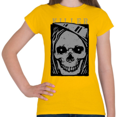 PRINTFASHION Gyilkos - Női póló - Sárga