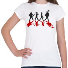 PRINTFASHION Gyilkosok - Női póló - Fehér