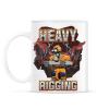 PRINTFASHION Heavy Rigging - Bögre - Fehér