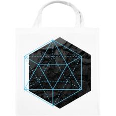 PRINTFASHION Hexagonal - Vászontáska - Fehér