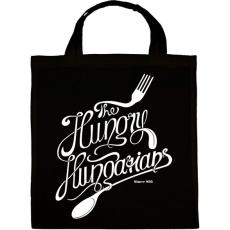 PRINTFASHION Hungry hungarians - Vászontáska - Fekete