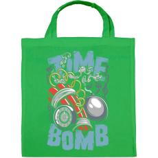 PRINTFASHION Időbomba - Vászontáska - Zöld