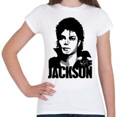 PRINTFASHION Jackson - Női póló - Fehér