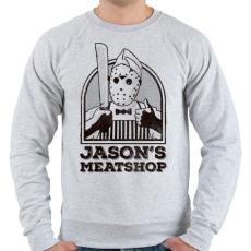 PRINTFASHION Jason húsboltja - Férfi pulóver - Sport szürke
