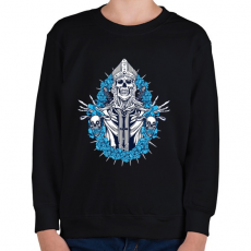 PRINTFASHION Jön a bosszú - Gyerek pulóver - Fekete