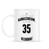 PRINTFASHION kamasz-35-black-white - Bögre - Fehér