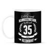 PRINTFASHION kamasz-35-white - Bögre - Fekete
