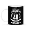 PRINTFASHION kamasz-40-white - Bögre - Fekete