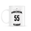 PRINTFASHION kamasz-55-black-white - Bögre - Fehér