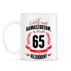 PRINTFASHION kamasz-65-black-red - Bögre - Fehér